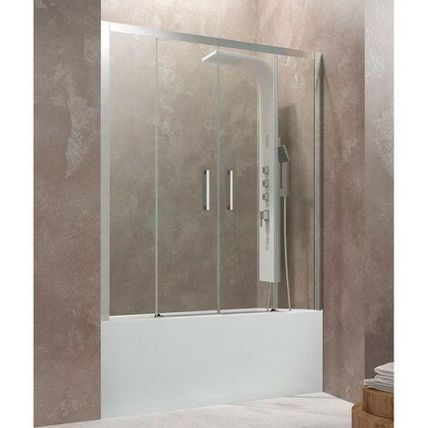 Frontal de bañera AKTUAL SPACIO dos fijos + dos puertas