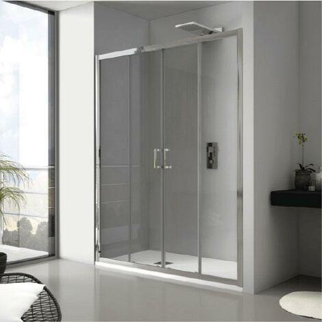 Frontal de ducha 2 Fijos + 2 Puertas Correderas JAMESON