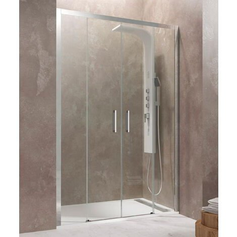 Frontales de ducha AKTUAL 2 fijos + 2 correderas