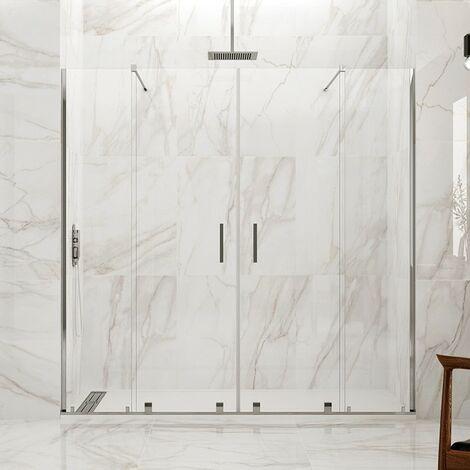 Frontales de ducha VITRO 2 fijos + 2 correderas