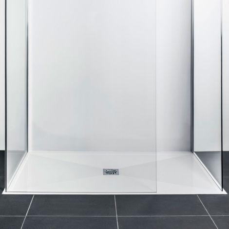Frontline Aquaglass 1200 X 760mm Slimline Rectangular Shower Tray