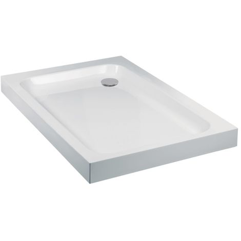 Frontline Aquaglass 1400 X 800mm Rectangular Shower Tray