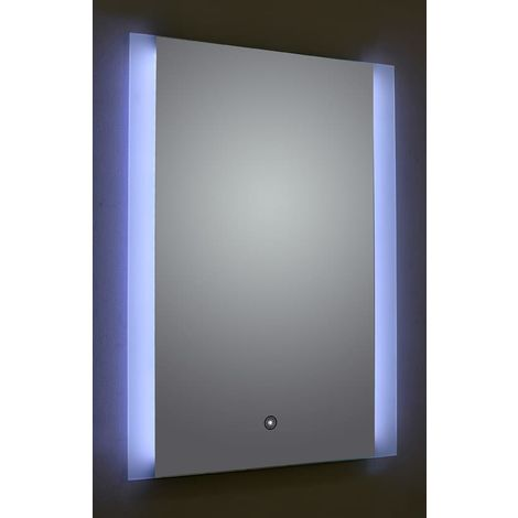 Frontline Ashbourne 500mm Backlit Mirror with Touch Sensor and Demister