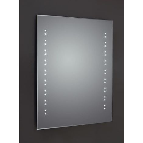 Frontline Ballina 600mm BevelEdged LED Mirror with Sensor and Shaving Socket