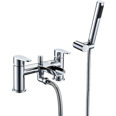 Frontline Ballini Waterfall Bath Shower Mixer Tap