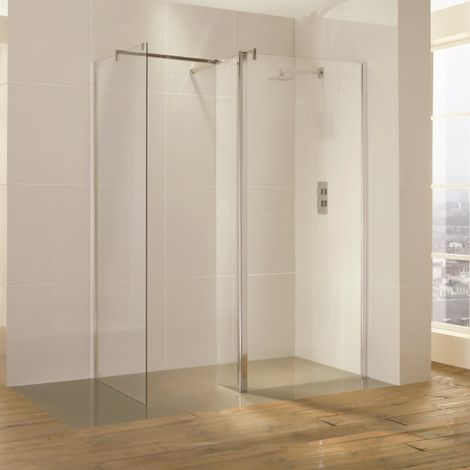Frontline Bathrooms 1600x900 Level Square Waste Wetroom Kit