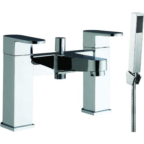 Frontline Caprice Square Bath Shower Mixer Tap