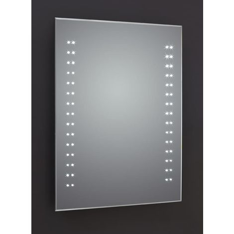 Frontline Ceta 500mm LED Mirror with Sensor Demister and Shaving Socket