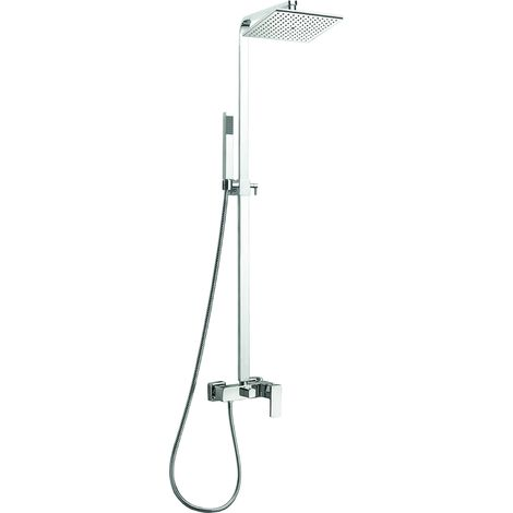 Frontline Cube Square Thermostatic Shower Pole