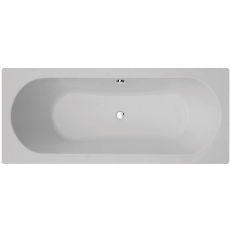 Frontline Duo 1700 X 750mm Double Ended Round Bath