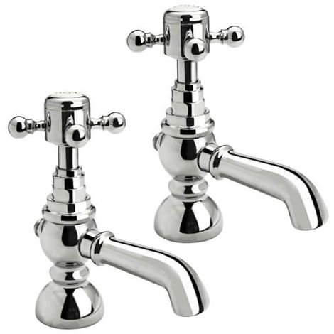Frontline Edwardian Traditional Deck Mounted Bath Tap