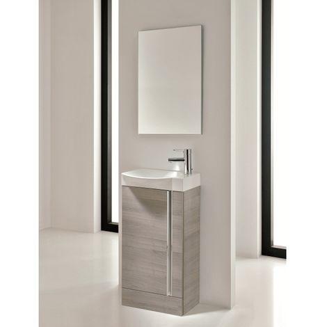 Frontline Elegance Sandy Grey 450mm Floorstanding Cloakroom Unit Pack