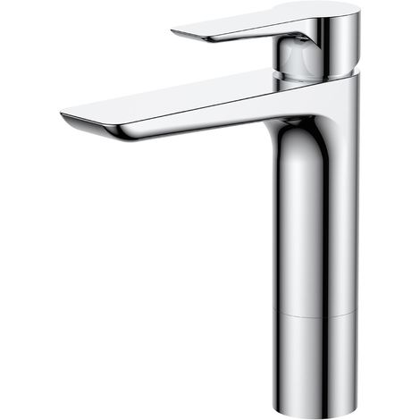 Frontline Espada Deck Mounted Basin Mixer Tap with Waste