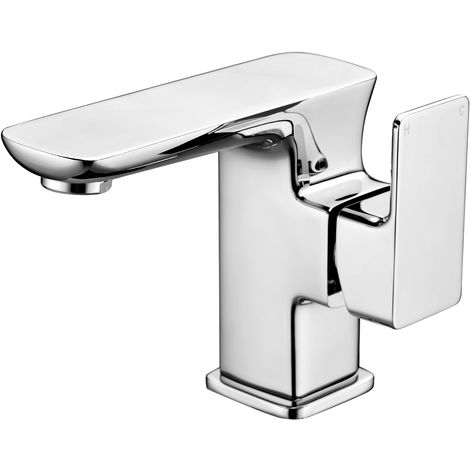 Frontline F60 Deck Mounted Basin Mixer Tap with Waste