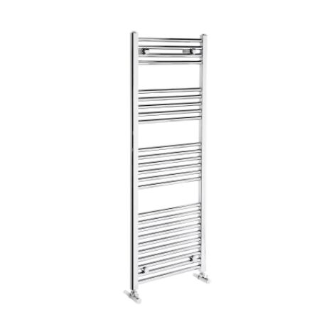 Frontline Flat Panel Towel Radiator 1350 x 600 - Chrome