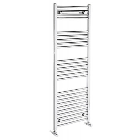 Frontline Flat Panel Towel Radiator 1350h x 500w - Chrome