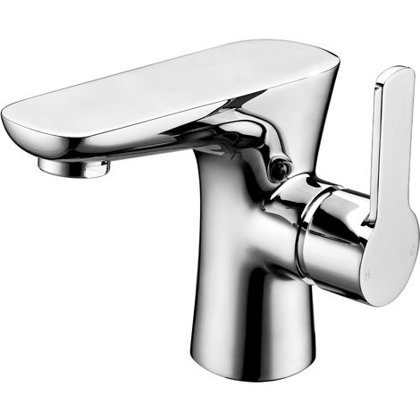 Frontline Garda Deck Mounted Basin Mixer Tap with Waste