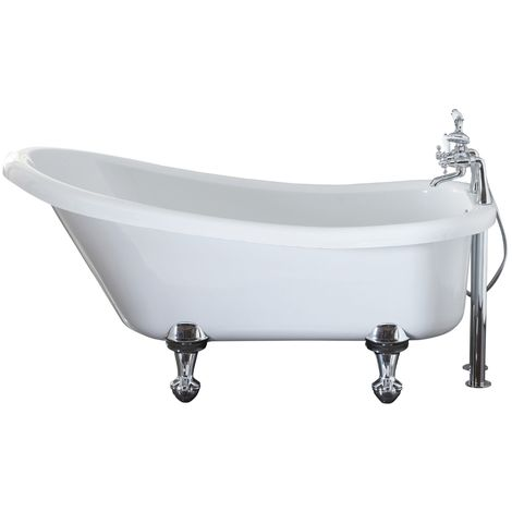 Frontline Holborn Camden 1700 X 750mm Luxury Slipper Roll Top Bath