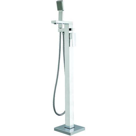 Frontline Ixos Freestanding Square Bath Shower Mixer Tap