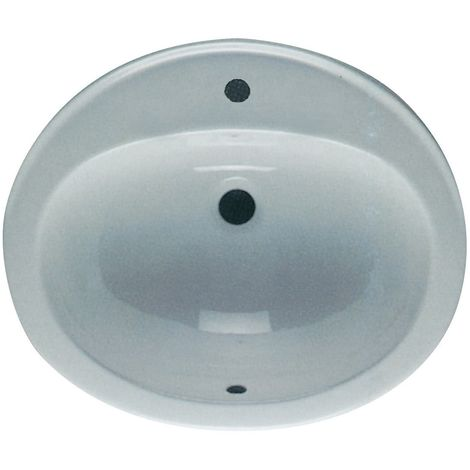 Frontline Jessica 530mm In Countertop Basin 1 Tap Hole