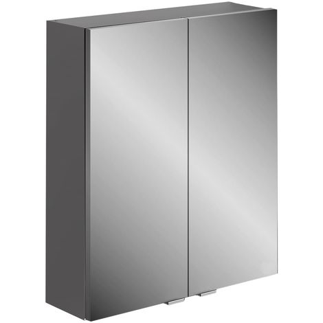 Frontline Joy 600mm 2 Door Mirrored Cabinet