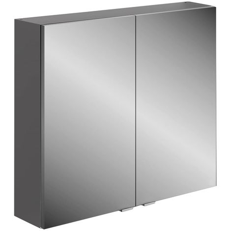 Frontline Joy 800mm 2 Door Mirrored Cabinet