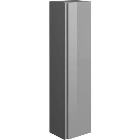 Frontline Joy Tall Cupboard Wall Unit Urban Grey