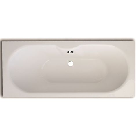 Frontline Luna 1700 X 750mm Double Ended Round Bath
