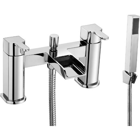 Frontline Modo Waterfall Bath Shower Mixer Tap