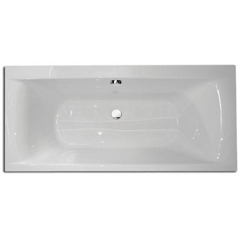 Frontline Oporto 1700 X 800mm Double Ended Acrylic Bath
