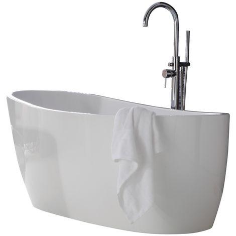 Frontline Pano 1500 X 735mm Luxury Freestanding Slipper Bath