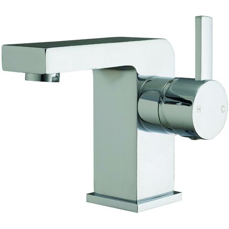 Frontline Pano Deck Mounted Basin Mixer Tap with Waste