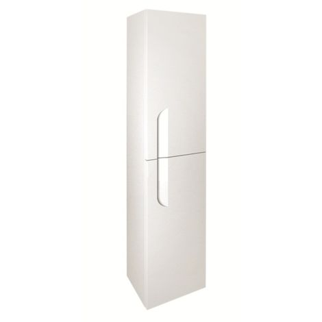 Frontline Royo Vitale 1500mm Gloss White Tall Wall Unit