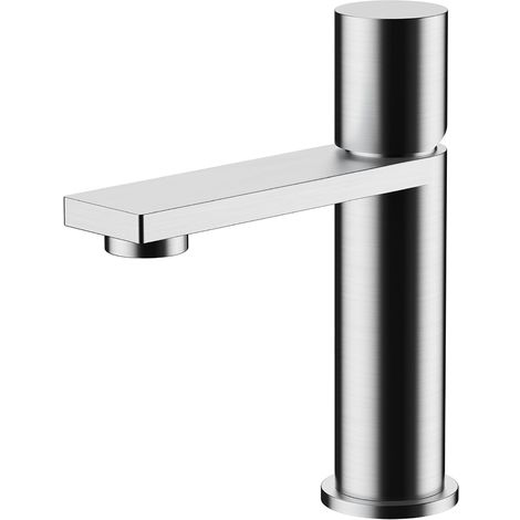 Frontline Sash Deck Mounted Basin Mixer Tap with Waste