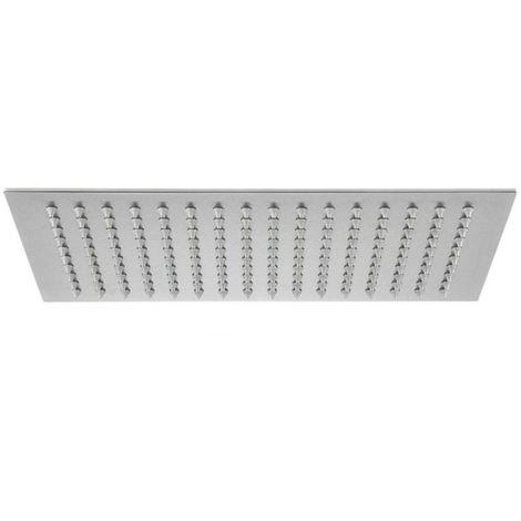 Frontline Sleek Designer Square 300x200mm Shower Head