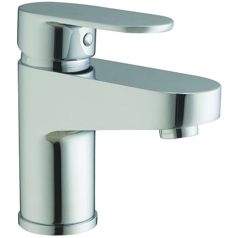 Frontline Sphere Deck Mounted Basin Mixer Tap with Waste