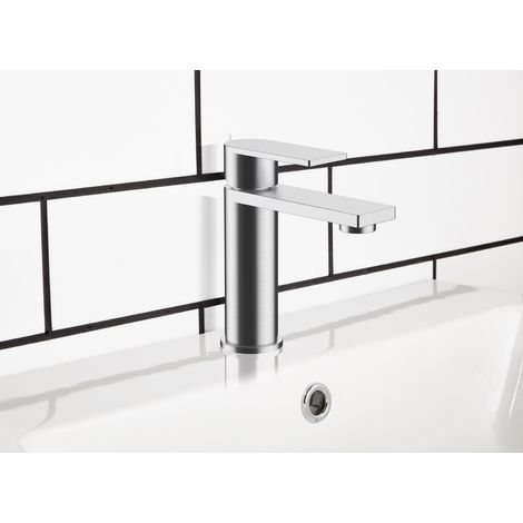 Frontline Strand Deck Mounted Basin Mixer Tap with Waste