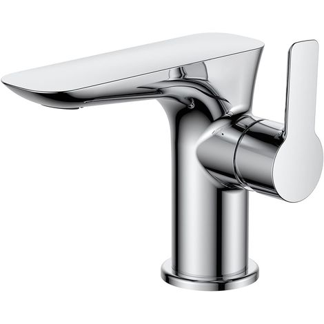 Frontline Vido Deck Mounted Basin Mixer Tap with Waste