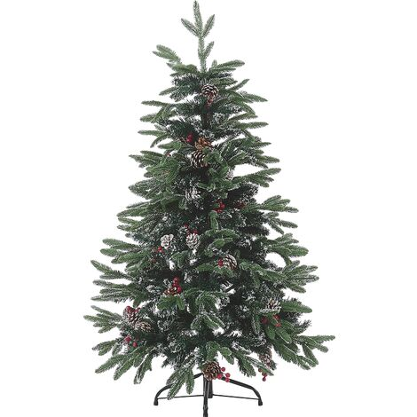 Frosted Christmas Tree 120 cm Green DENALI