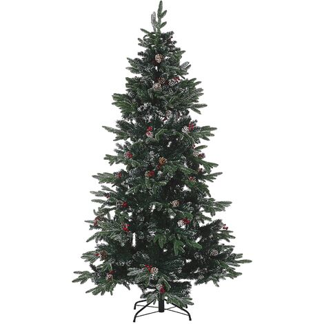 Frosted Christmas Tree 180 cm Green DENALI