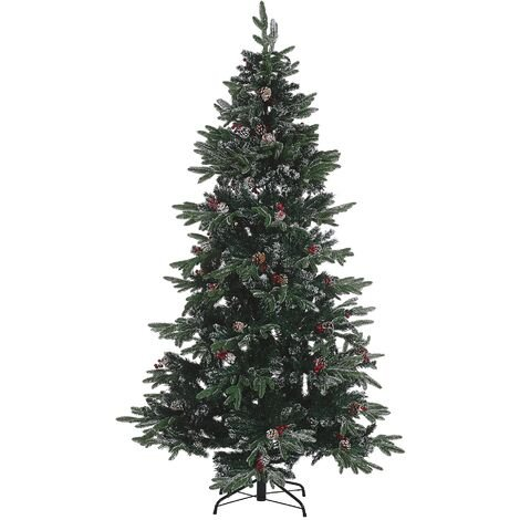 Frosted Christmas Tree 210 cm Green DENALI