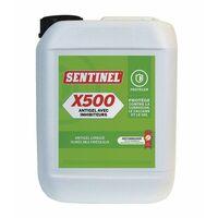 Frostschutz mit Hemmstoff x500 - Kanister 5 Liter - SENTINEL : X500L-4X5L-FR