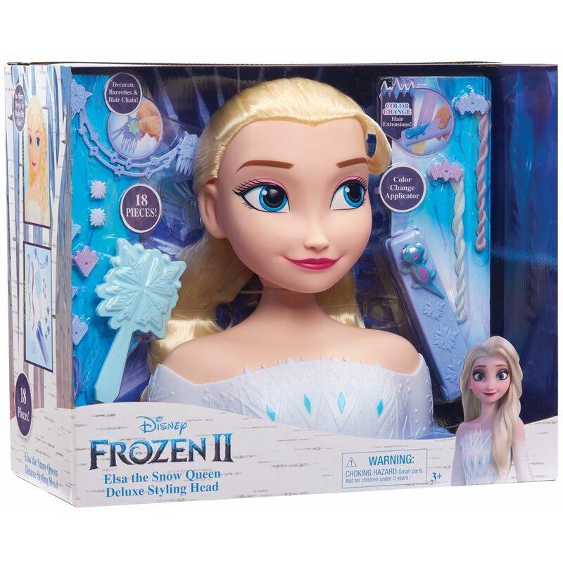 Image of Frozen 2 Deluxe Elsa Styling Head