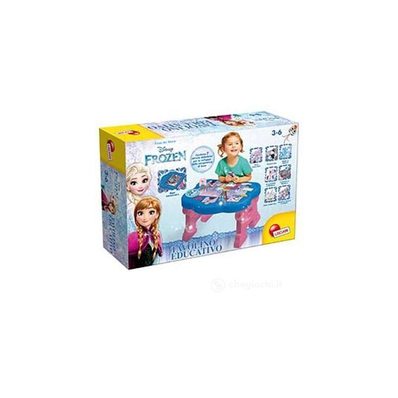 Tavolino Educativo Frozen.Frozen Tavolino Educativo 68142 Lisciani