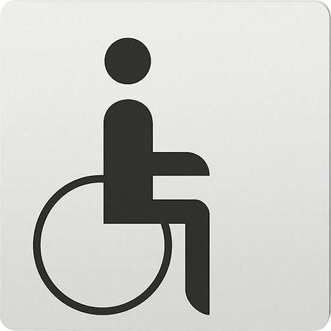 FSB Hinweiszeichen Handicap 0 36 4059 Alu F1