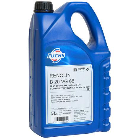 Fuchs 5 Litre Renolin B Hydraulic Oil