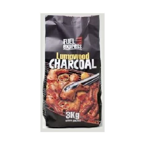 Fuel Express Lumpwood Barbecue Charcoal - 3 Kg Bag