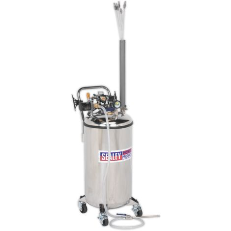 Fuel Tank Drainer 90ltr Stainless Steel