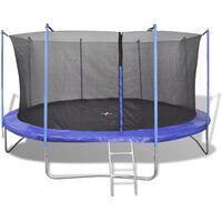 Fünfteiliges Trampolin-Set 3,66 m