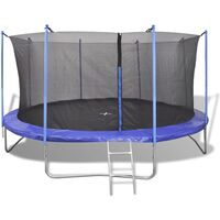 Fünfteiliges Trampolin-Set 4,26 m